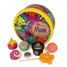 Mum gift - This bright and colorful gift is filled with fragrant delights that no Mum should be without.