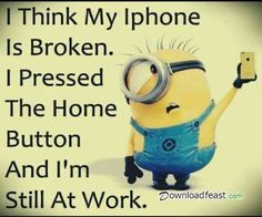 New Funny Minions Pictures :) Broken Screen Miami. Llama 305 web http:/. - New Funny Minions Pictures :] Broken Screen Miami. Llama 305 web http:// www. Image Minions, Minions Images, Funny Minion Pictures, Minions Love, Minions Pics, Minion Stuff, Jokes Images, Hilarious Pictures, Videos Funny