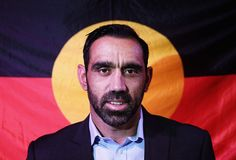 Sydney Swans player Adam Goodes has taken an indefinite break from playing AFL after being racially abused at last Sunday's West Coast-Sydney Swans clash. Racism In Australia, Adam Goodes, Victoria Pendleton, West Coast Eagles, Innocent Person, Aboriginal History, Bird People, Australian Football, Black Kids