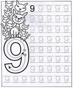 Aprendendo o número 9