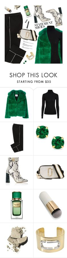 """""""Statement Boots"""" by magdafunk ❤ liked on Polyvore featuring MSGM, Topshop, Rochas, Marc Jacobs, Dolce&Gabbana, Bobbi Brown Cosmetics, Burberry, turtleneck, contestentry and polyPresents"""