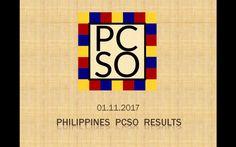 1st November PCSO Lotto results - DTube
