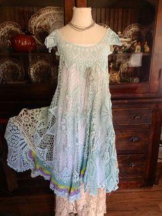Custom order for Dolores SeaGlass 2 Crochet by LuvLucyArtToWear, $195.00
