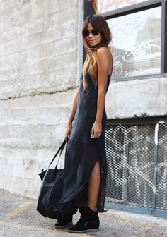 Wear Sneakers with Dresses - Glam Bistro