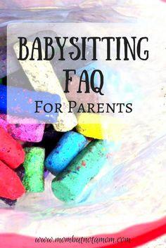 good babysitting tips