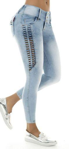 Jeans levanta cola LUJURIA 78636