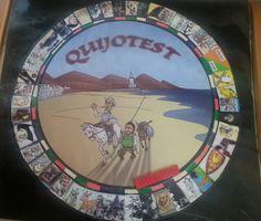 """PaLaBraS AzuLeS: """"Entre libros anda el juego: Quijotest"""". Proyecto sobre el Quijote"""