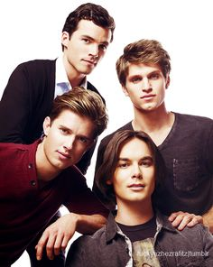 Men of PLL. Give me Jason, Caleb, and Ezra.. so basically I want everyone but Toby and especially Ezra!!! YUM