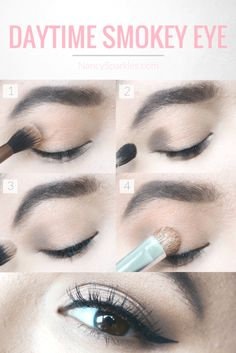 For your next day date, try this gorgeous daytime smokey eye that's quick and easy!