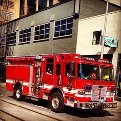 Portland fire truck