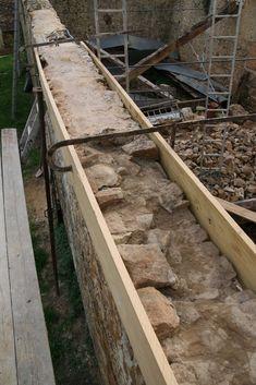 Arase mur en pierre