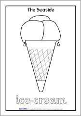 seaside colouring pages - Google Search