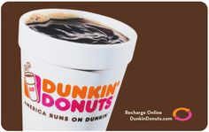 Did you know Send Out Cards has a huge, easy to use Gift Catalog?  You can send a Dunkin Donuts $5 gift card (+ processing fee) that is rechargeable online!    Use is as a personal gift, send one or send many as a  Business Building Tool. Many other  Gift Cards available!  Go to http://www.sendoutcards.com/ava and send a free card!