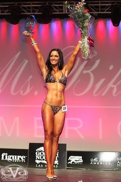 Lori Harder Ms Bikini Universe 2010 fuels her body with the same stuff I do! ISAGENIX!