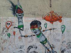 #streetart #cranio  Street Art. São Paulo - by Cranio.