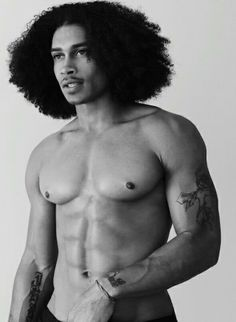 Im against sating men with hair longer than mine, but when my natural grows out he can be bae lol