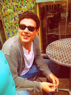 Cory Monteith. Let me love u!
