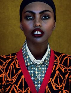 tomboybklyn:  Milan Dixon for Elle South Africa, April 2015