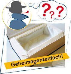 Geheimagentenfach?!? ...tolles Geheimversteck im Bücherregal