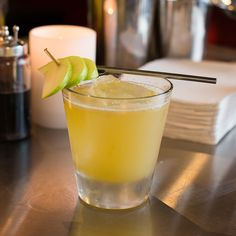Apple Business     2 oz Nolet's Silver Dry Gin     1 oz Fresh apple juice     .5 oz Fresh lime juice     .5 oz Honey