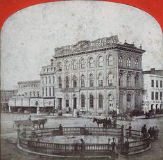 A London, England Insurance company owned a massive building in Montgomery, Alabama before 1870. - http://alabamapioneers.com/london-england-and-montgomery-alabama/