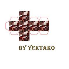 Minecraft Blocks, Minecraft Crafts, Diys, Mario, Pokemon, Paper Crafts, Miniatures, Quartz, Paintings