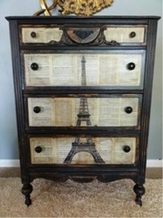 upcycled dresser - Google Search