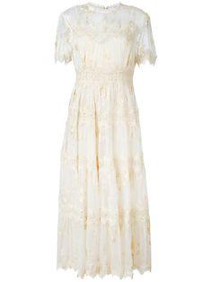 Zimmermann кружевное платье