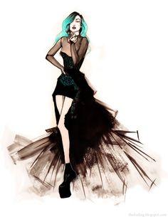 awesome gaga drawing! #ladygaga