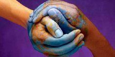 Solidarité - hands - world