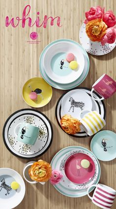 Bring a splash of color to your table with vibrant Whim dinnerware from the #MarthaStewartCollection & DIY Melamine Plates | Pinterest | Melamine dinnerware Dinnerware ...