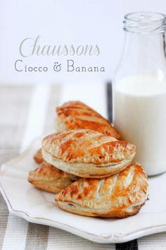 MIEL & RICOTTA: Chaussons Ciocco & Banana