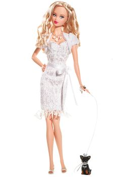 Miss Diamond™ Barbie® Doll | Barbie Collector Pink Label® Designed by: Bill Greening  Release Date: 6/1/2007 Product Code: K8693