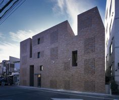 Japan-based studio Love Architecture completed in Tokyo Shugoin, a residential building composed by four blocks designed with a dynamic approach to activate the public and private spaces. http://bit.ly/1rbTE0v