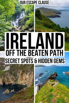 Ireland Off the Beaten Path: 17 Secret Spots + Hidden GemsYou can find Ireland travel and more on our website.Ireland Off the Beaten Path: 17 Secret Spots + Hidden Gems Emerald Isle, Cool Places To Visit, Places To Travel, Travel Destinations, Oregon, Ireland Travel Guide, Traveling To Ireland, Ireland Hiking, Backpacking Ireland