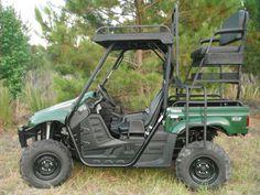 Yamaha Rhino High Rack & Roof from BCO - 2CoolFishing 2019 Ranger, Utv Accessories, Quail Hunting, Polaris Ranger, Back Seat, Golf Carts, Yamaha, Vehicles, Rhinos