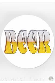 Shop Beer on Tap Classic Round Sticker created by Personalize it with photos & text or purchase as is! Kids Stickers, Cool Stickers, Round Stickers, Custom Stickers, International Beer Day, Ad Sports, More Beer, Sticker Ideas, Food Themes