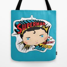 super-homem Tote Bag by iso.  - $22.00