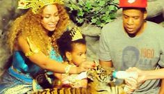 Blue Ivy Turns Three, Beyoncé Celebrates With Ice Sculpture | MTV UK  08.01.2015