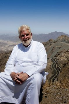 Taif, Saudi Arabia. In the background is the famous Al Taif Highway.