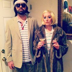 Calling All Couples! These Unique 2019 Halloween Costume Ideas Are Creative and Cute to Boot Easy Couples Costumes, Clever Costumes, Unique Costumes, Costume Ideas, Couple Costumes, Girl Costumes, Couples Halloween, Halloween Costumes To Make, Halloween Kostüm