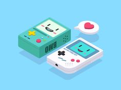 2.5D—BMO And Game Boy by Clow Ben - Dribbble
