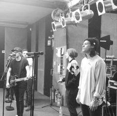 rehearsing