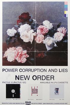 power, corruption and lies... - (new order)(1983)(poster)