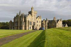 Balfour castle, shapinsay island, shapinsay, orkney, scotland