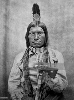 Low Dog was one of the fighting chiefs of the Sioux at the Battle of Little Big Horn.