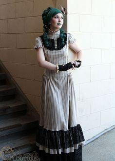 steampunk dress 2