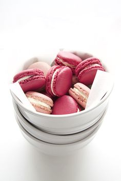 Blackberry & Raspberry Macarons with Ginger & Lime Buttercream Filling. I'm so surprised I haven't started to make these already... Been researching for quite some time now.