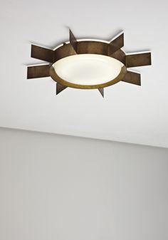 GIO PONTI, 'Sole' ceiling light