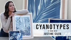 How to DIY Cyanotypes at home - projects to survive quarantine. Home Stuck, Cyanotype, Kits For Kids, Old Paper, Linocut Prints, Home Projects, Art Lessons, Printmaking, Activities For Kids
